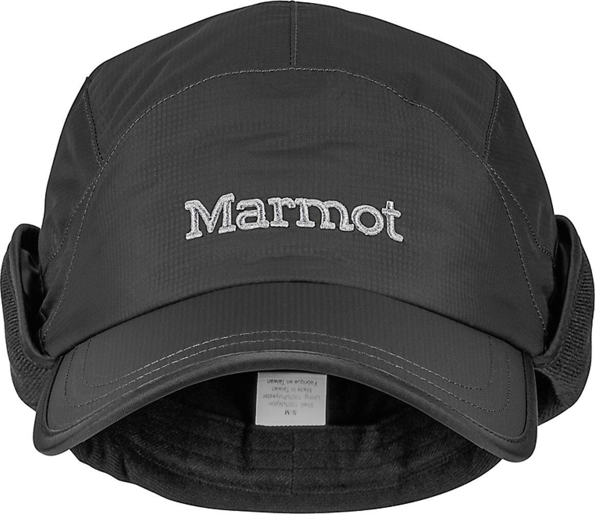 cb4b246d97f Marmot PreCip Insulated Baseball Cap Black